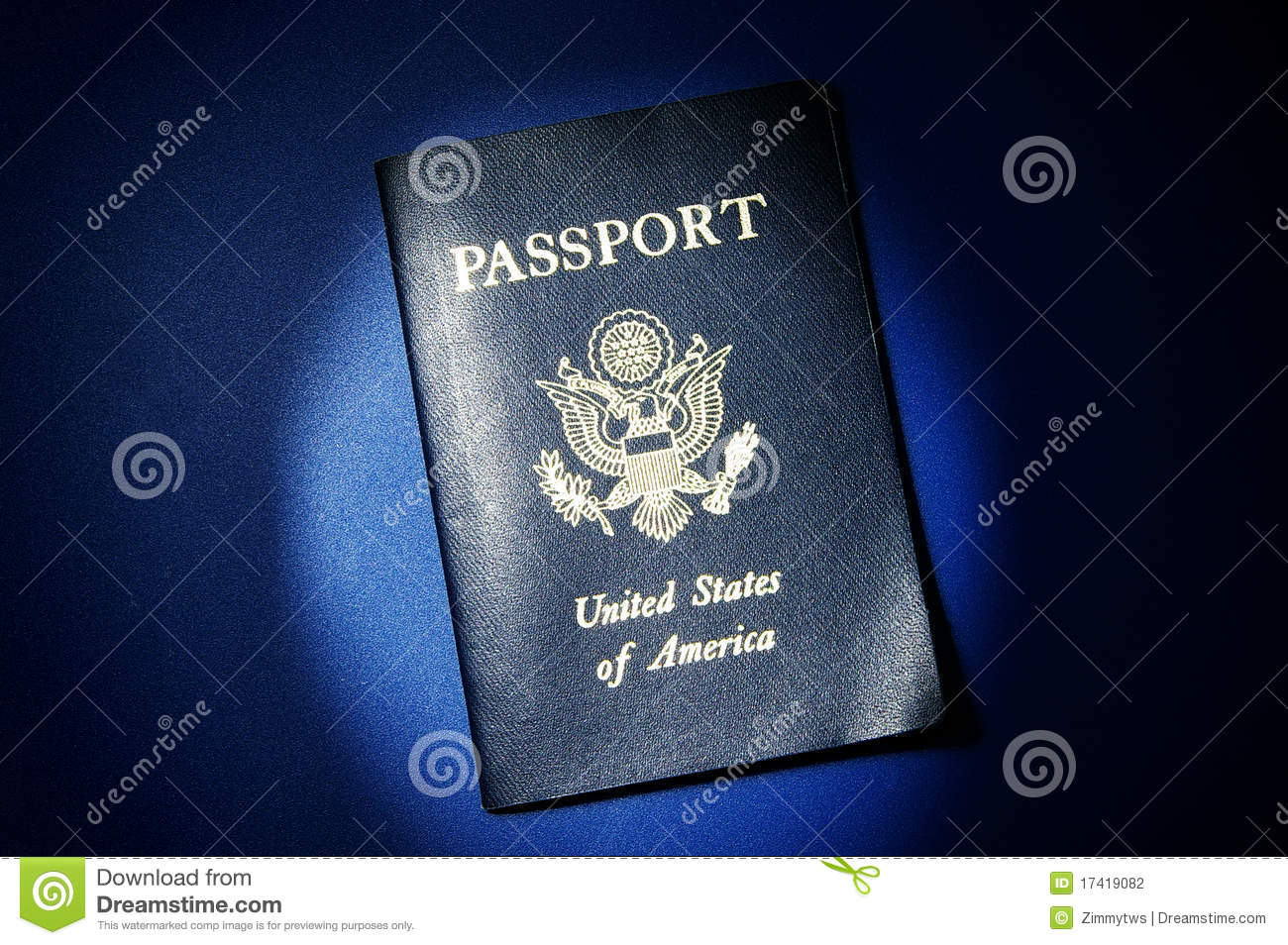 US Passport Stock Photography - Image: 17419082