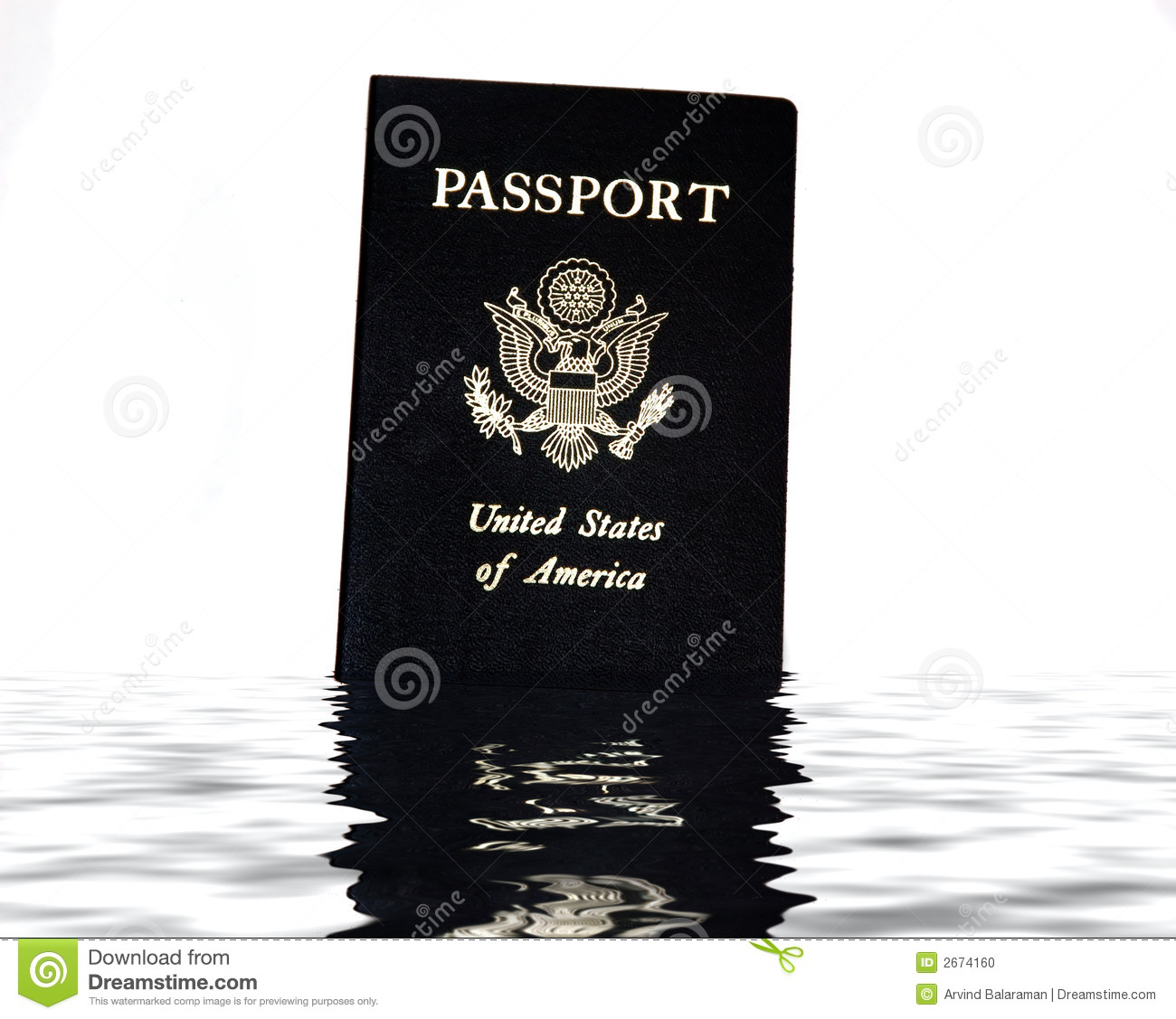 US Passport Stock Photo - Image: 2674160