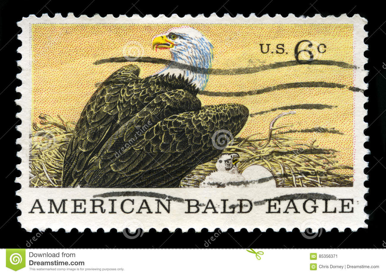 Bald Eagle Us National Emblem Royalty Free Stock