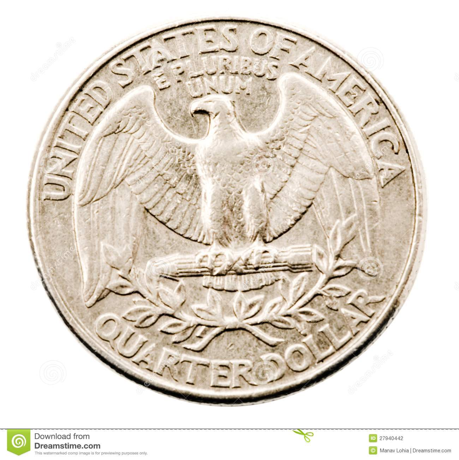 Us quarter dollar coin