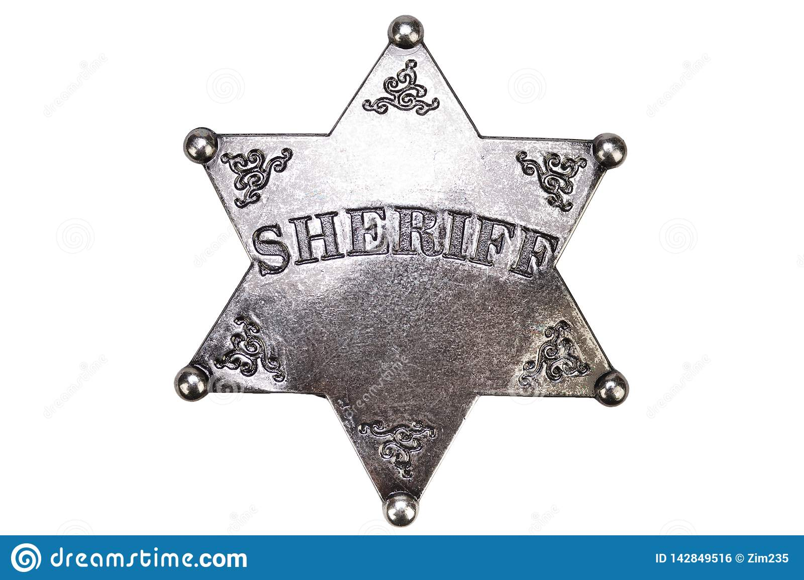 US Sheriff badge from the wild west