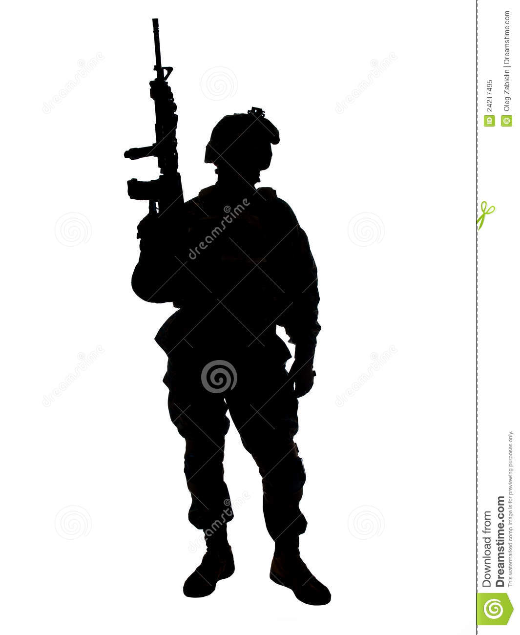 US Soldier Royalty Free Stock Photo - Image: 24217495