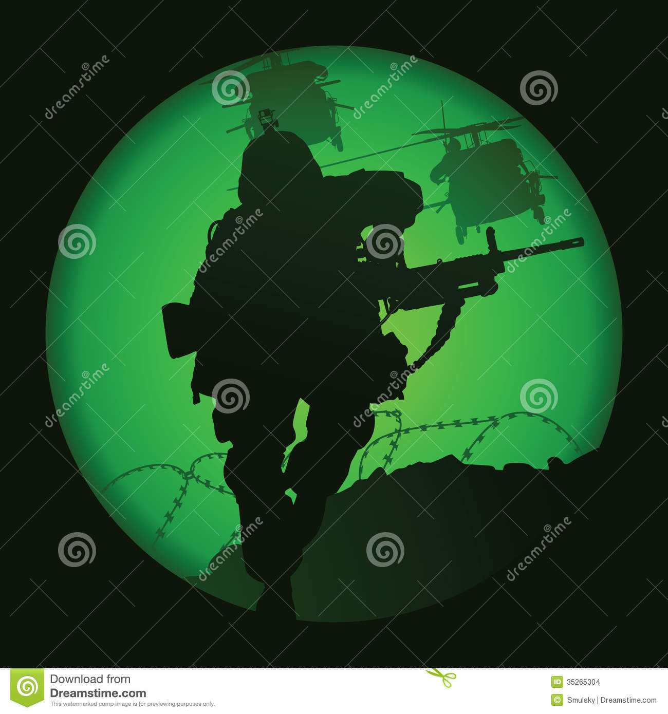 US soldier stock vector  Illustration of conflict, marines - 35265304