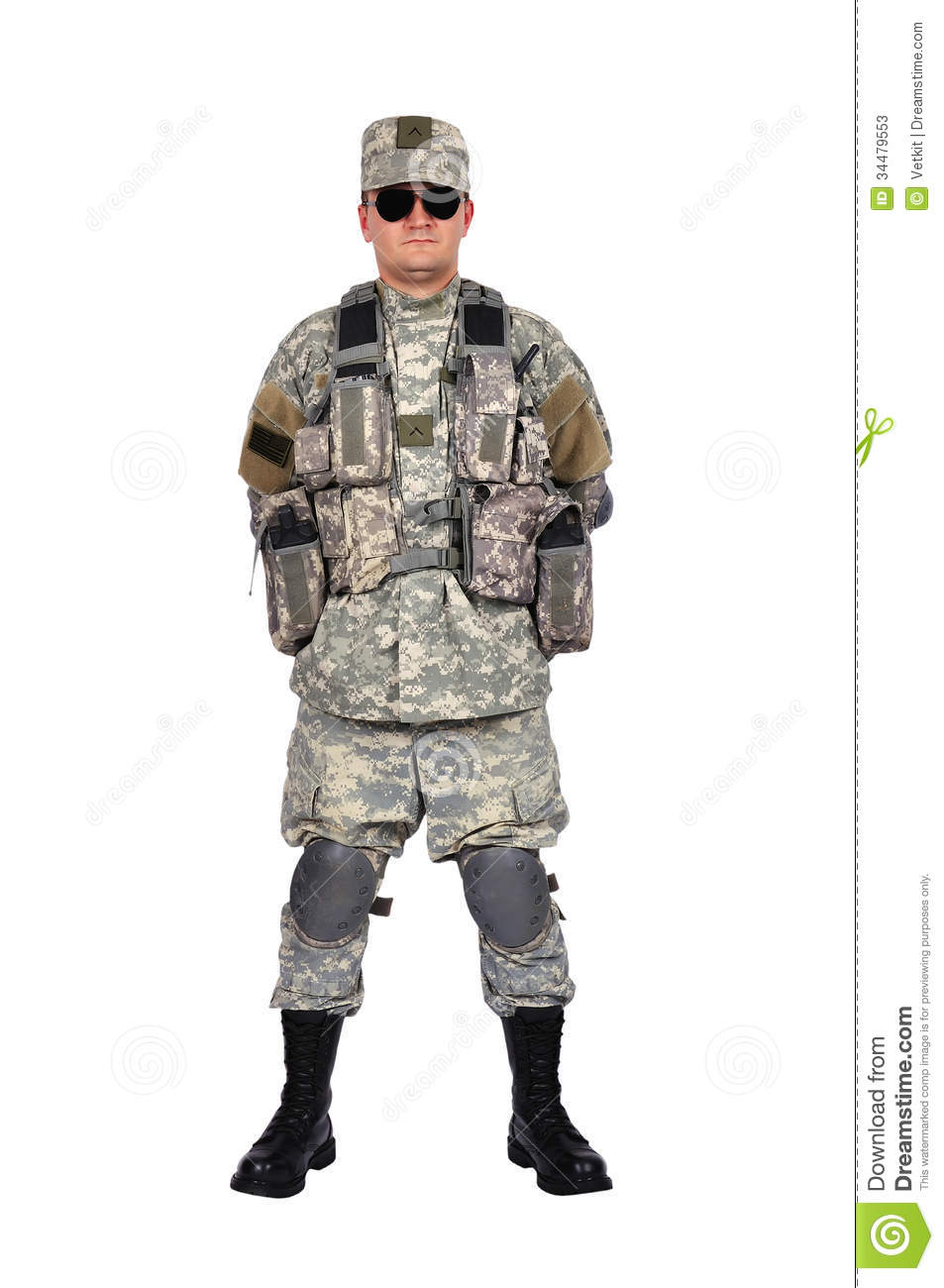 US Soldier Stock Photos - Image: 34479553