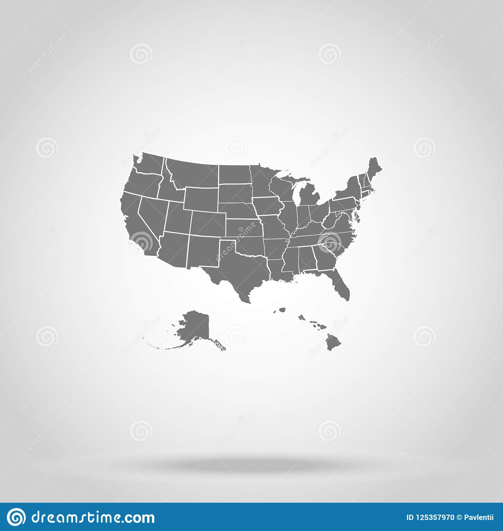 US states of America