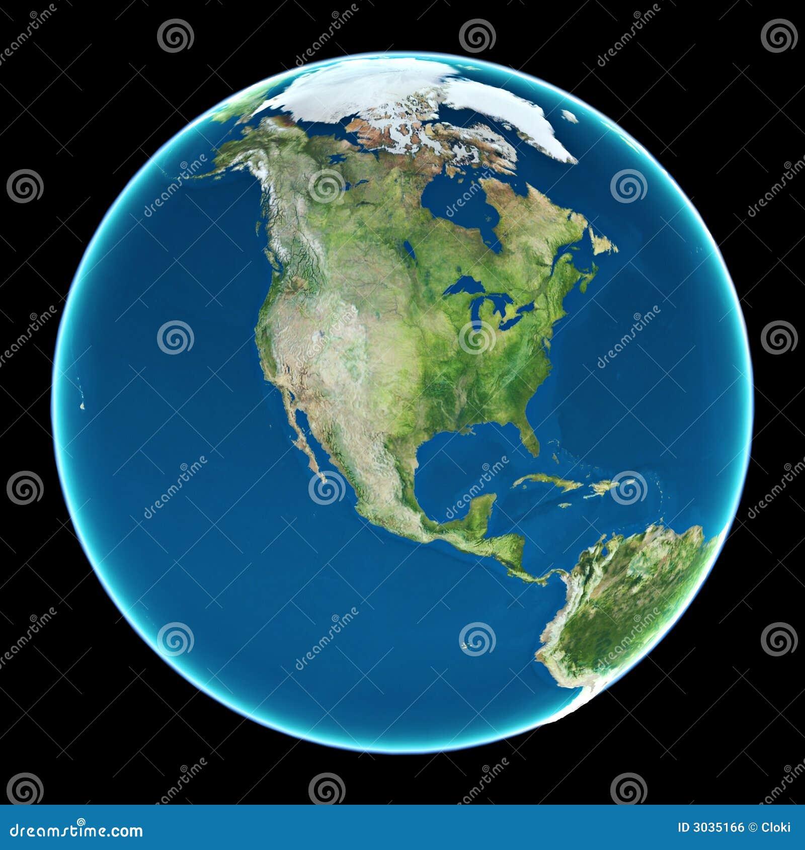 USA auf Planet Erde