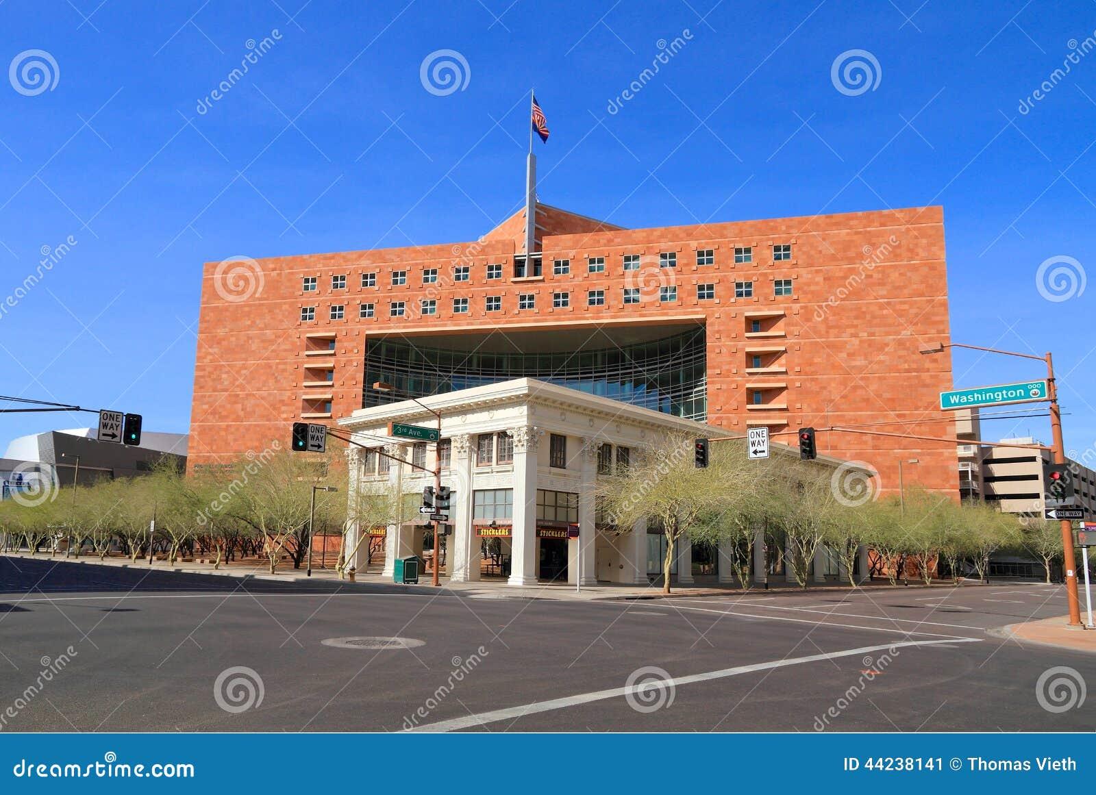 Usa az phoenix walker building municipal court for Building a house in arizona
