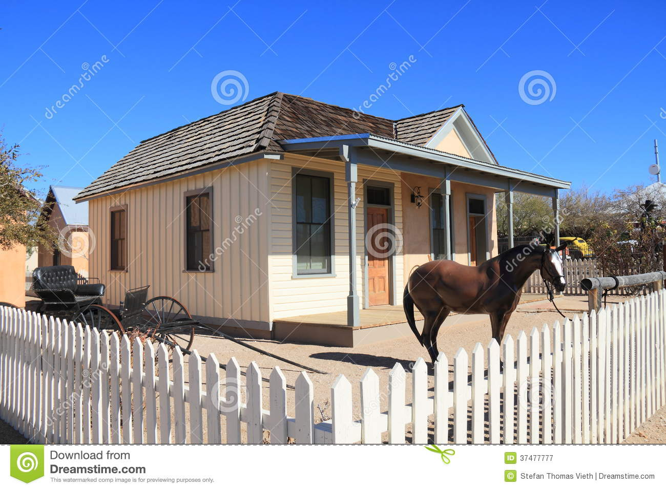 Usa Az Tombstone Old West Wyatt Earp House Royalty