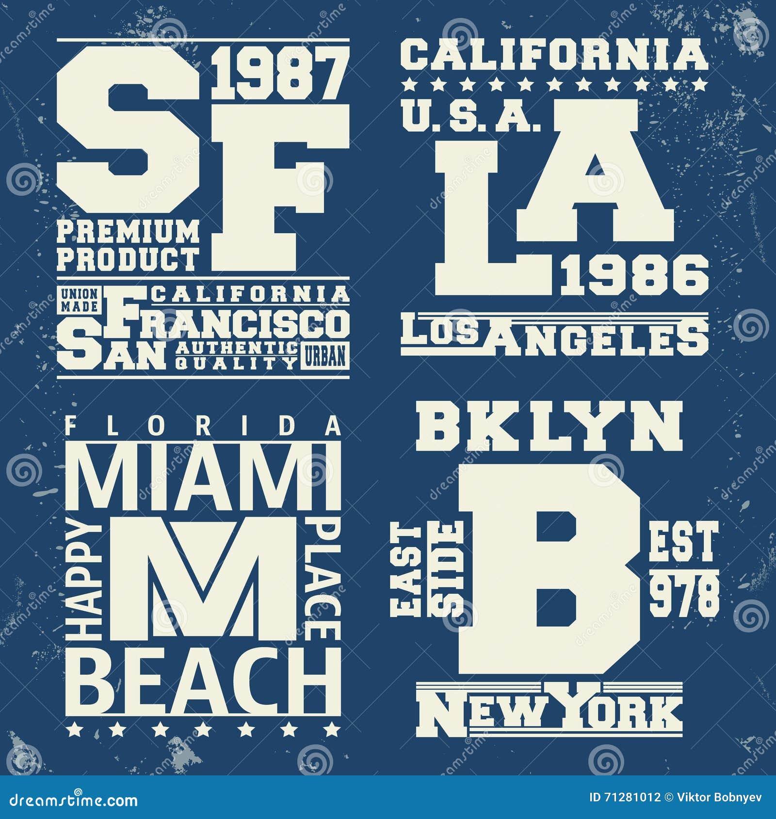 Usa City Vintage Stamp Stock Vector Image 71281012