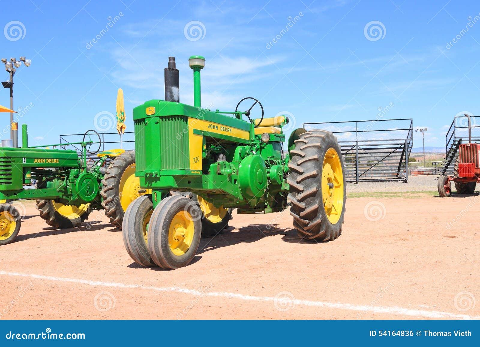 usa classic tractor john deere model 720 195658
