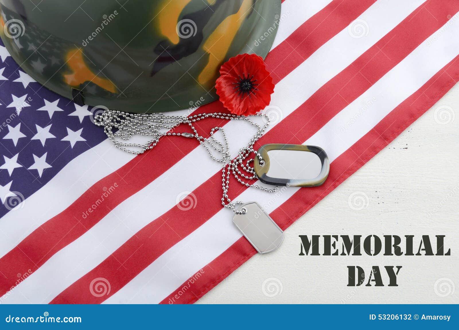 USA dnia pamięci pojęcie