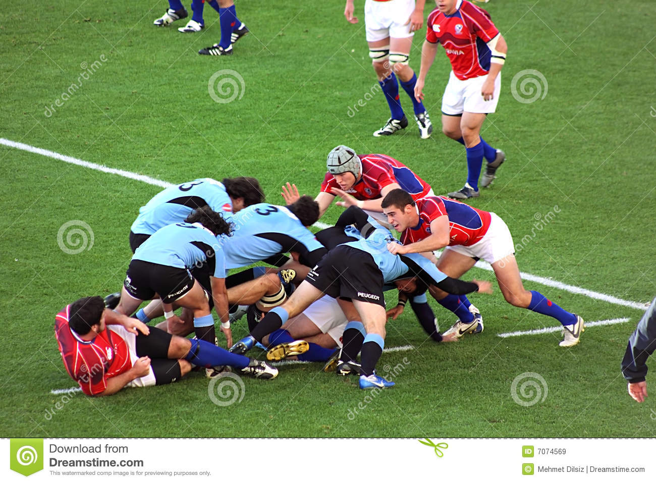 USA Eagles Vs Uruguay - Rugby Game Editorial Stock Image ...