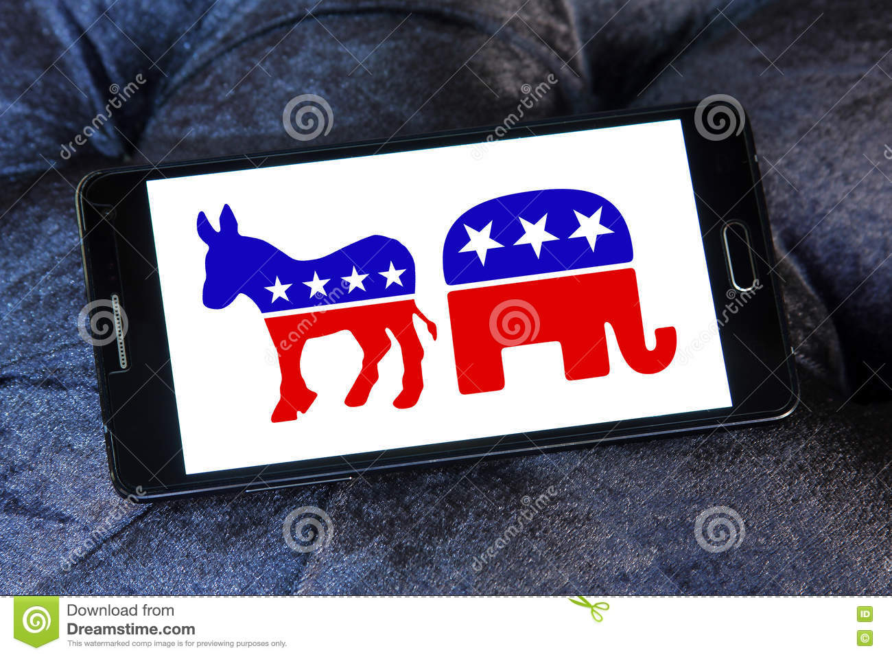 USA Election Political Symbols Editorial Stock Image ...