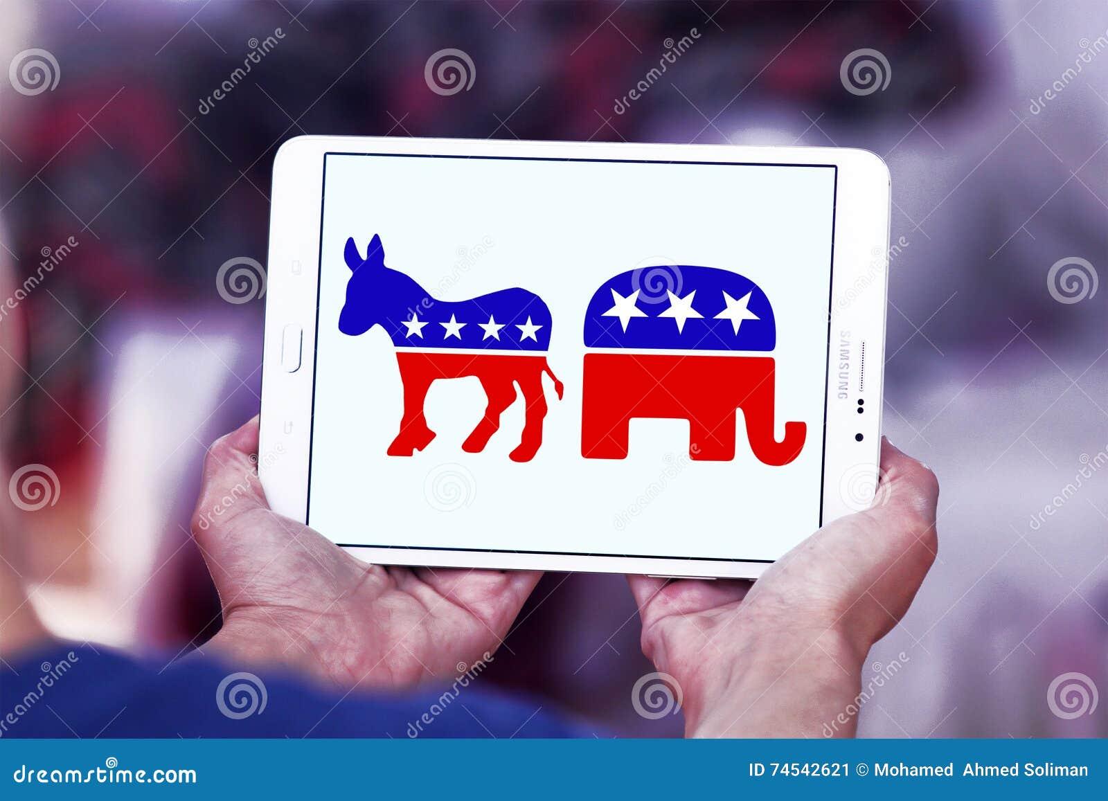 Usa Election Political Symbols Editorial Photo Image Of