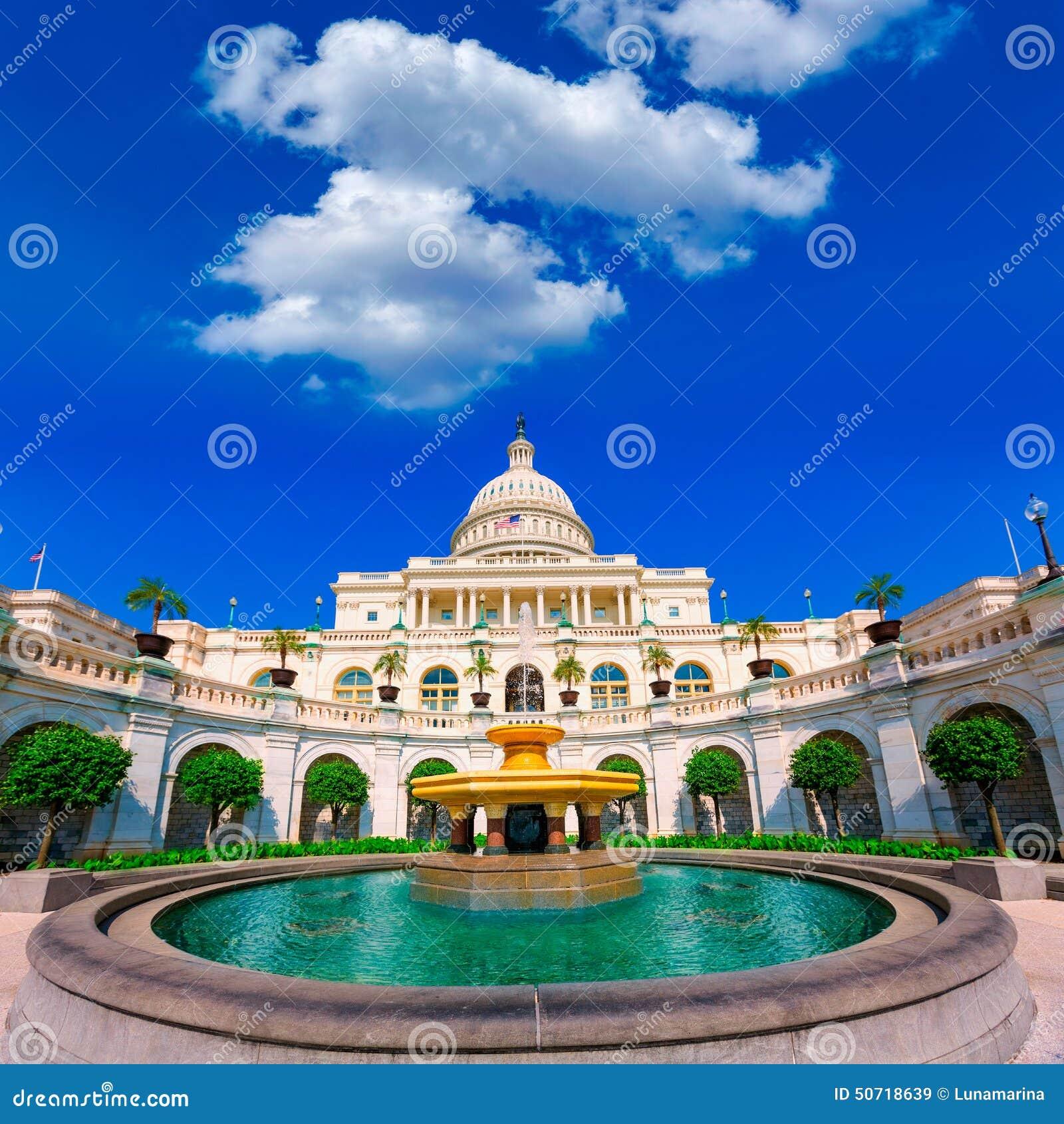 USA för KapitoliumbyggnadsWashington DC kongress
