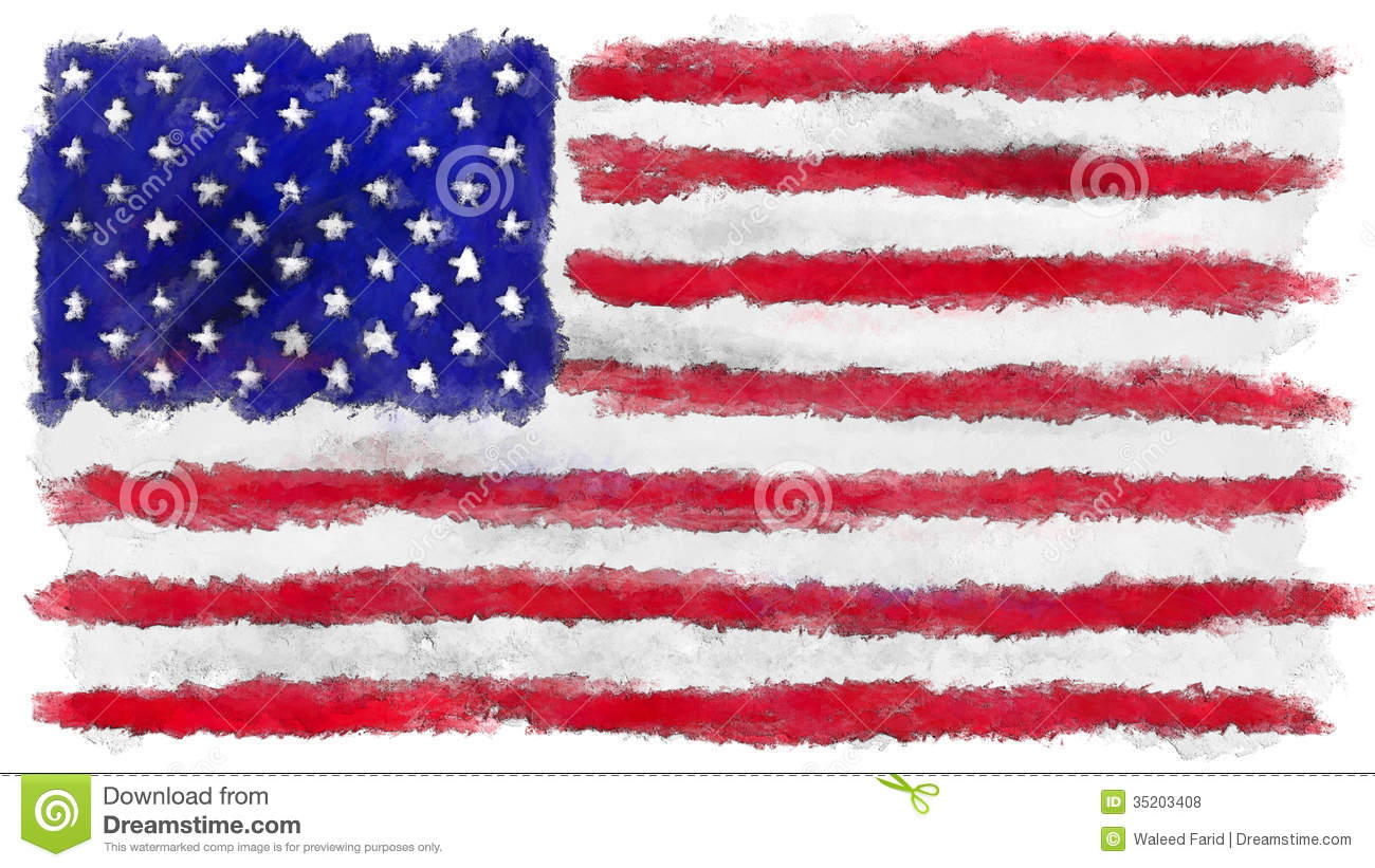 free animated clip art american flag - photo #49