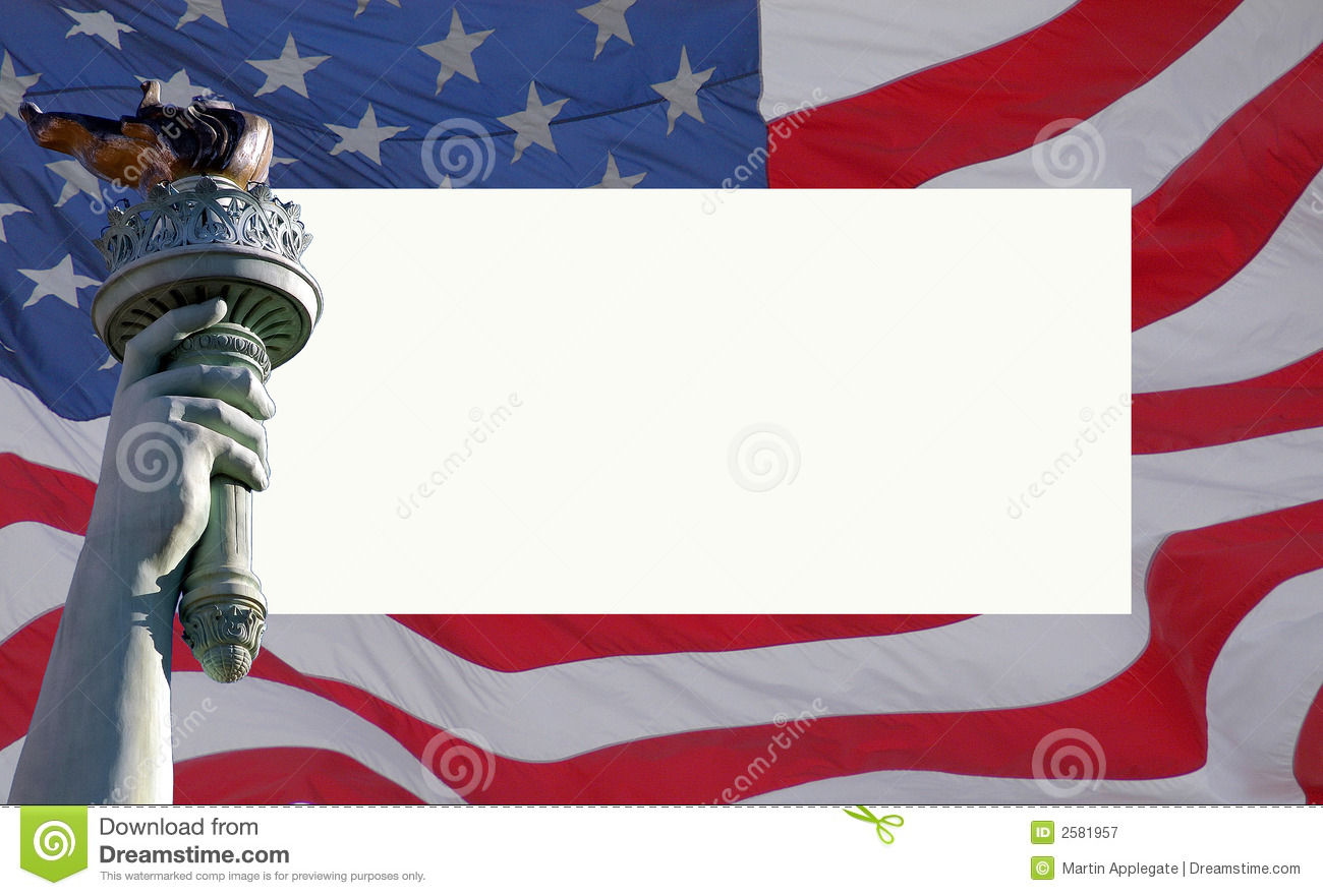 usa flag and liberty statue stock image image of landmark space