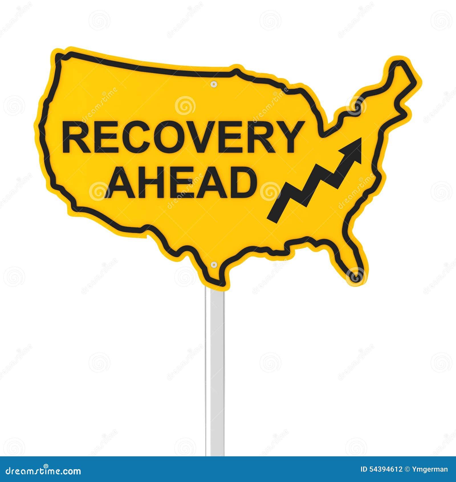 USA gospodarki wyzdrowienie naprzód