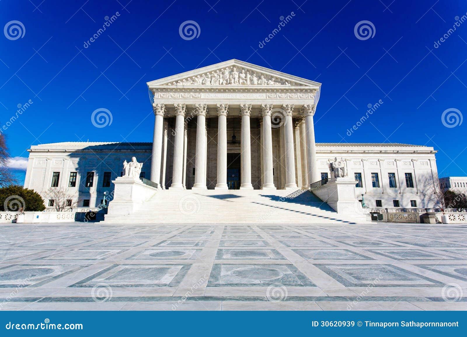 USA-högsta domstolenbyggnad