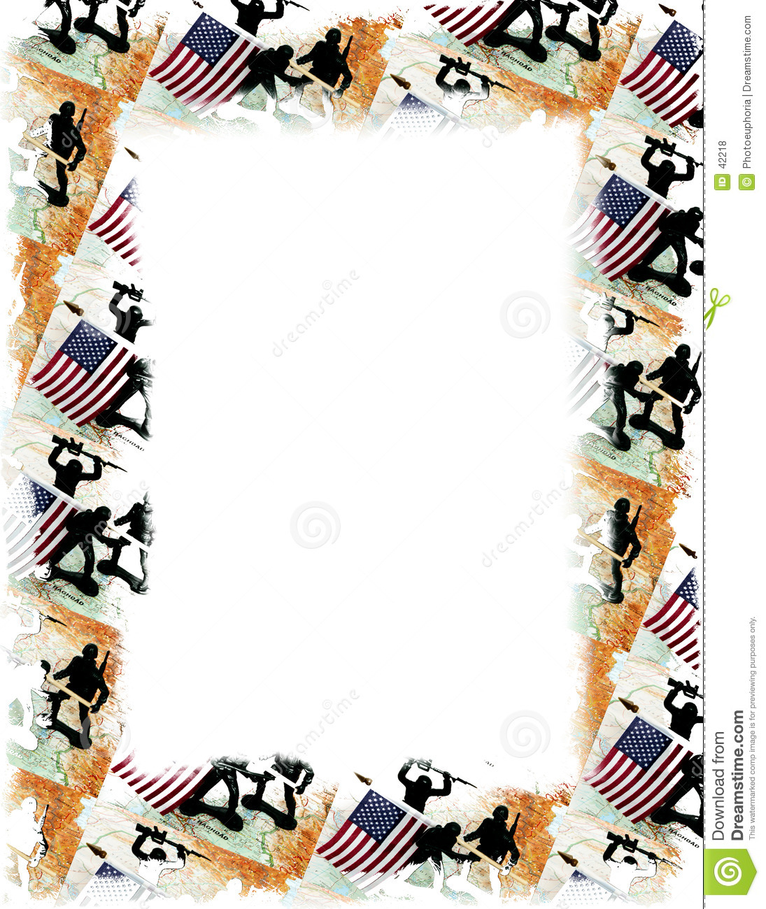 USA/Iraq Frame