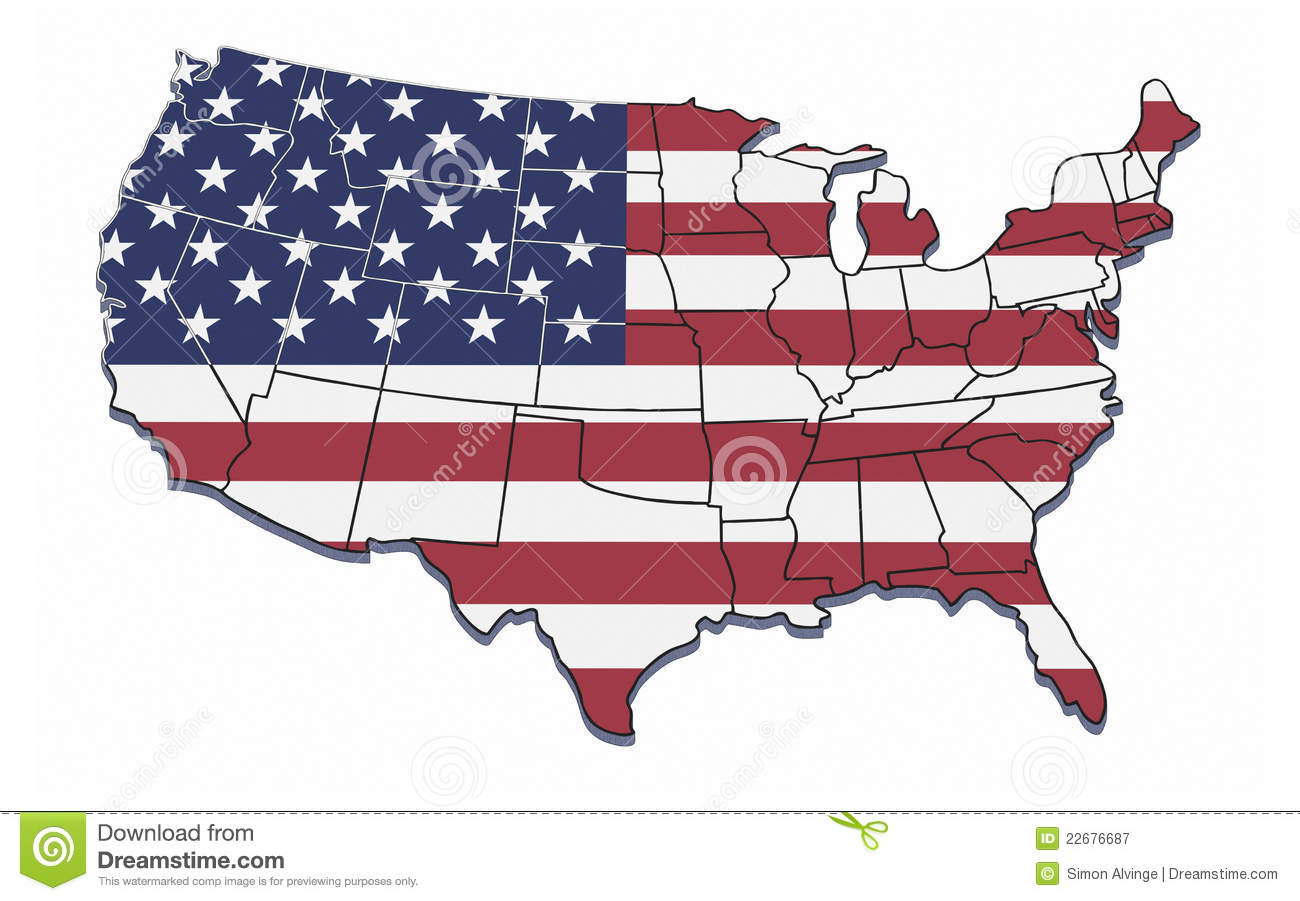 state borders usa map with st