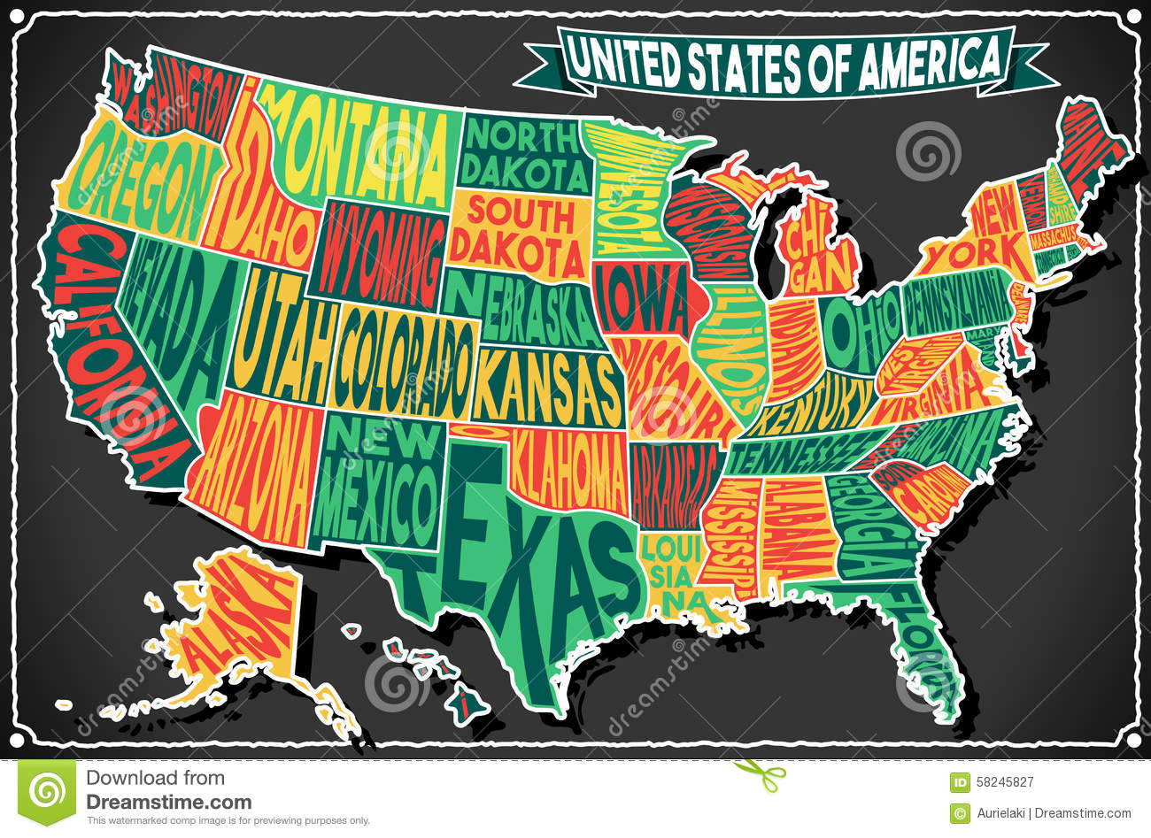 Royalty Free Vector Download Usa Map