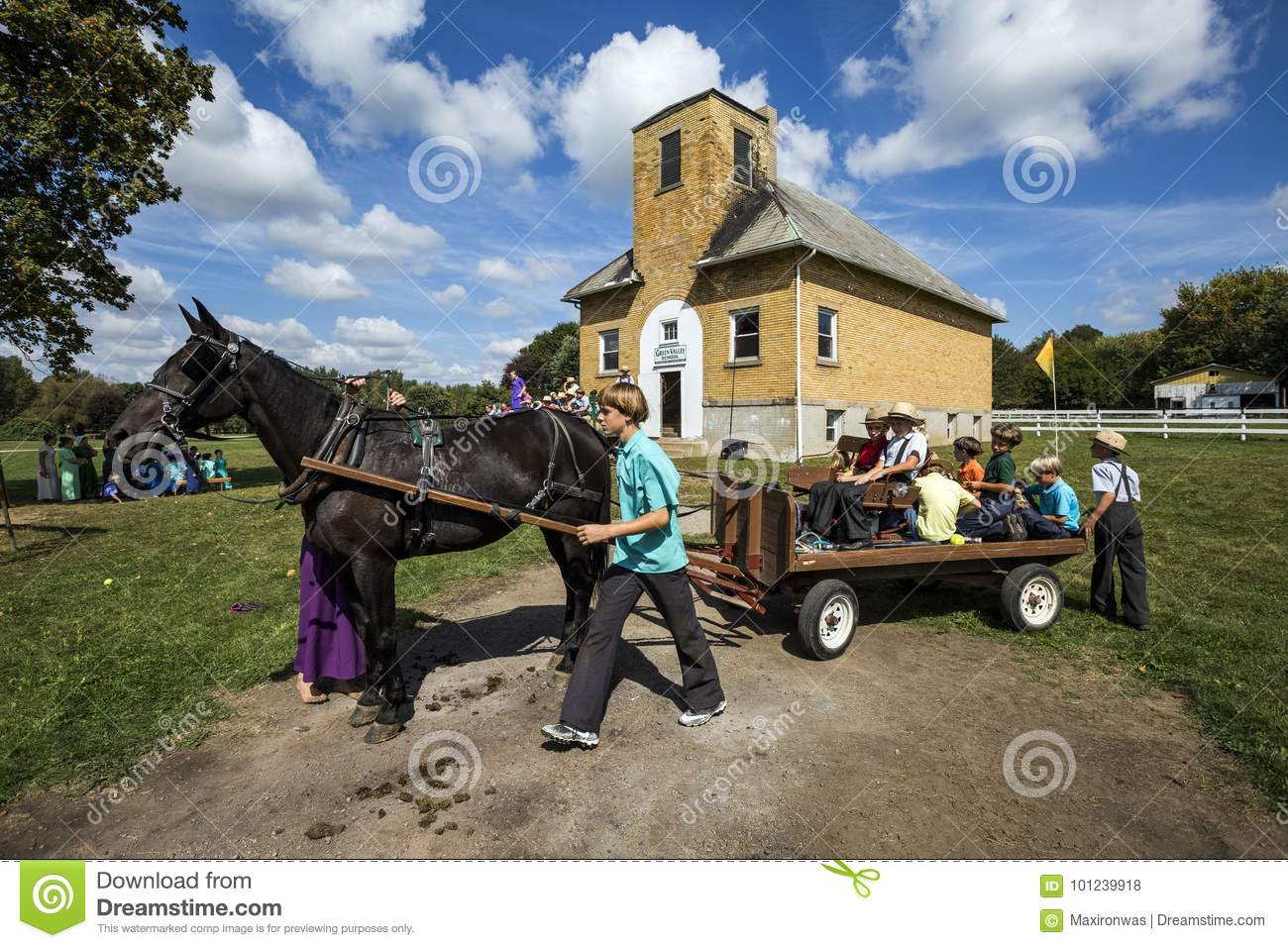 USA - Ohio - Amish