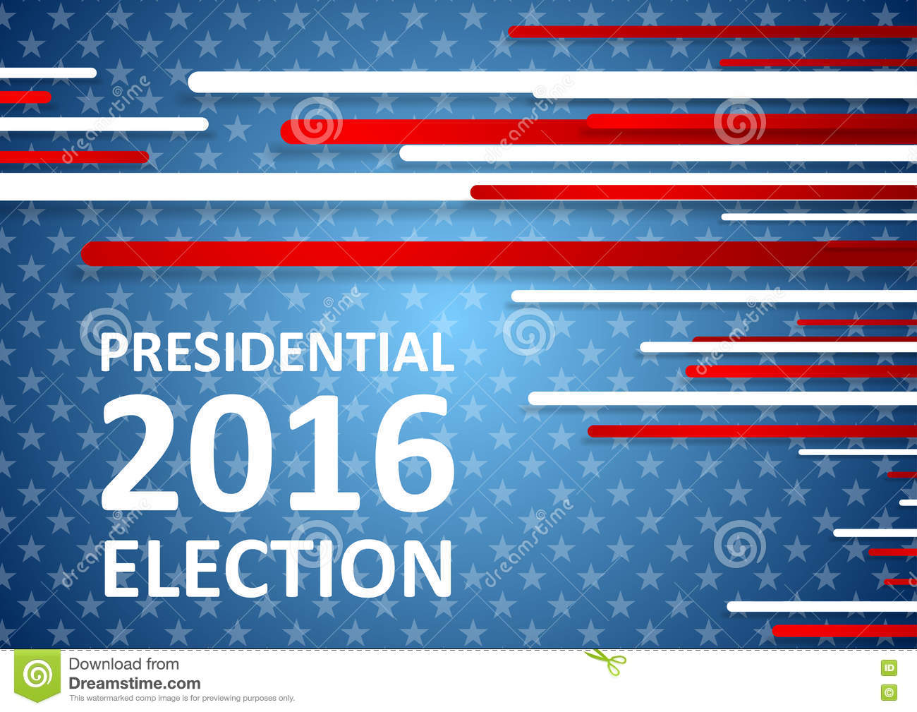 USA Presidential Election 2016 Brochure Template Vector – Election Brochure
