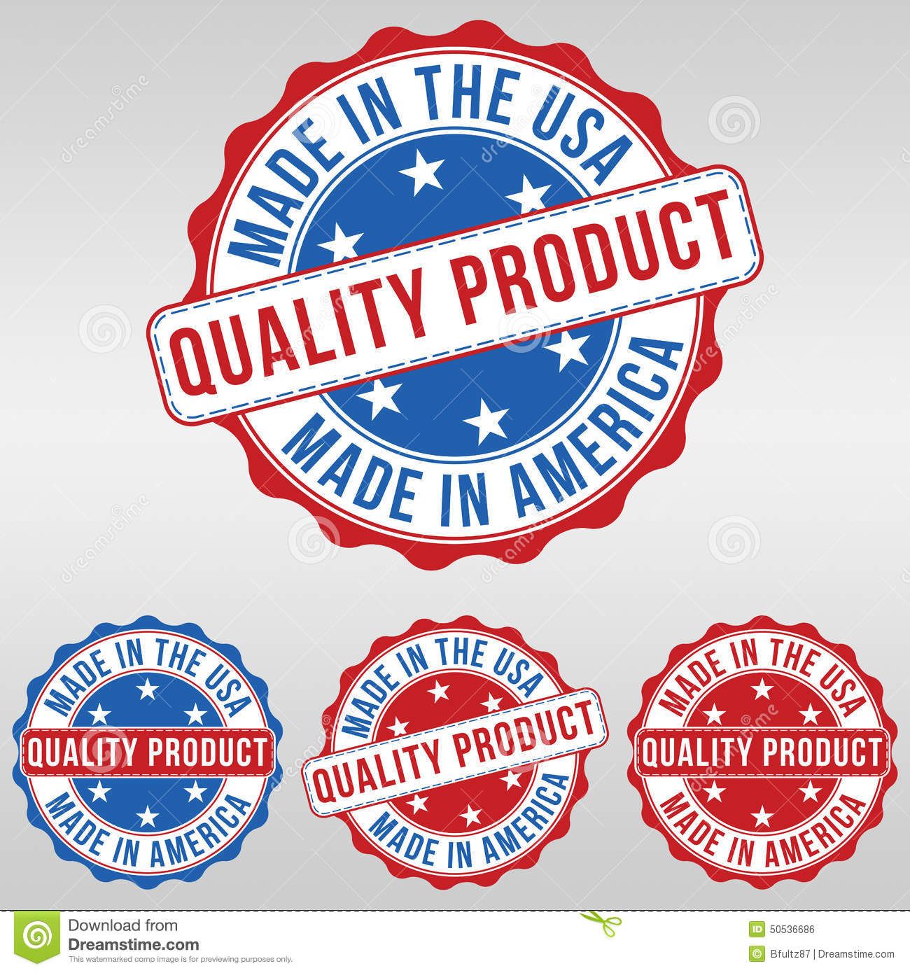 Made in the usa symbol stock vector image of sticker 50536724 made in america icons usa quality product stamp royalty free stock image buycottarizona
