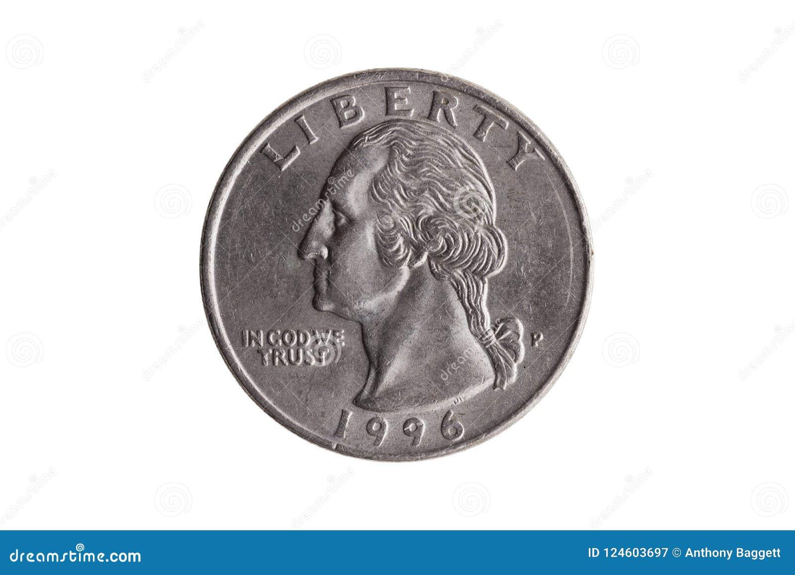 USA quarter dollar George Washington