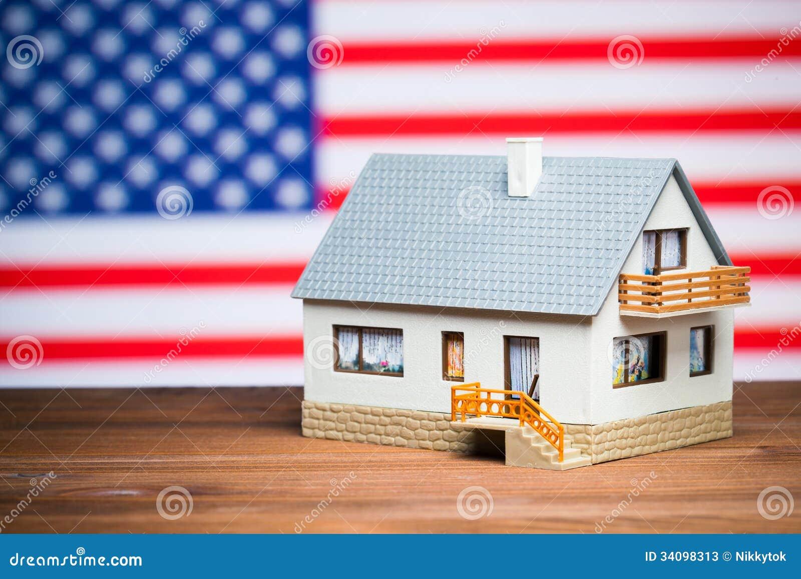 Usa Realty Concept Stock Photos Image 34098313