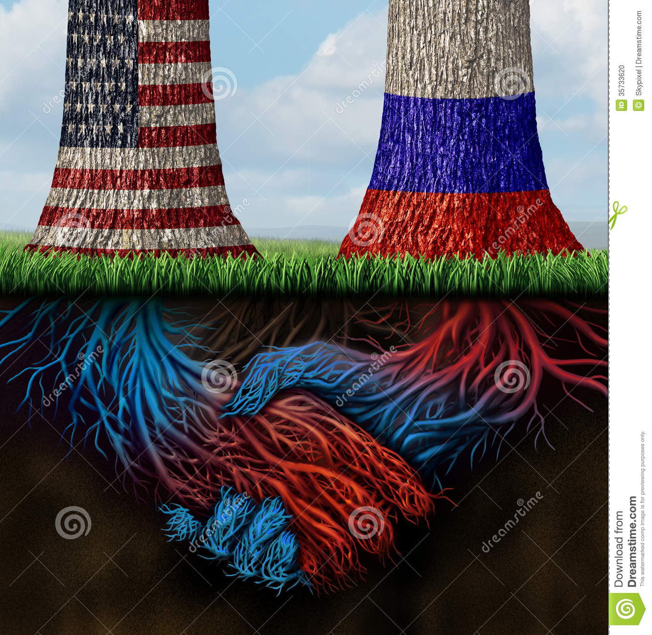 usa russia cooperation stock photo image 35733620 usa flag clip art free us flag clipart for vinyl cutting