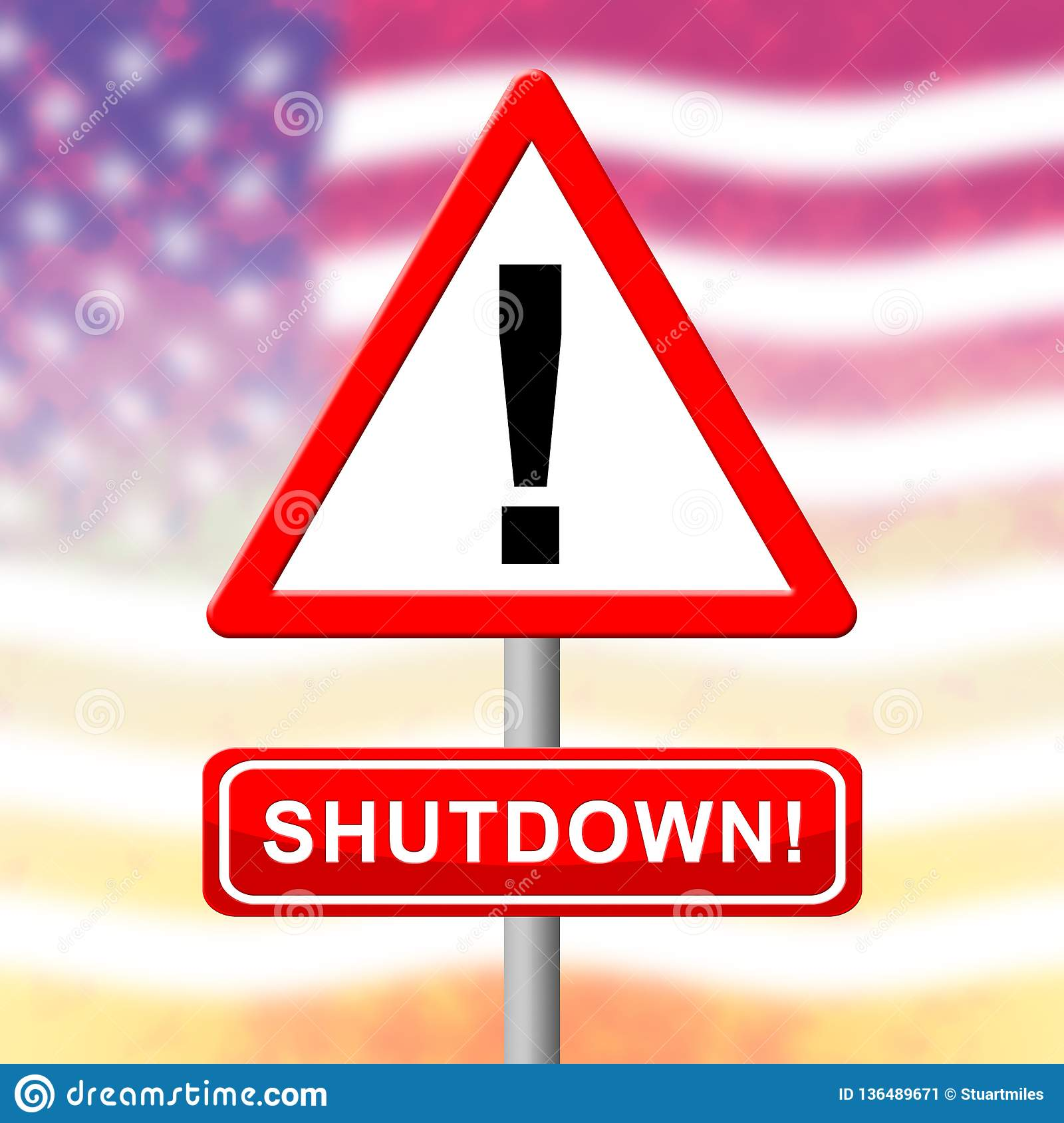 what does it mean if the federal government shuts down