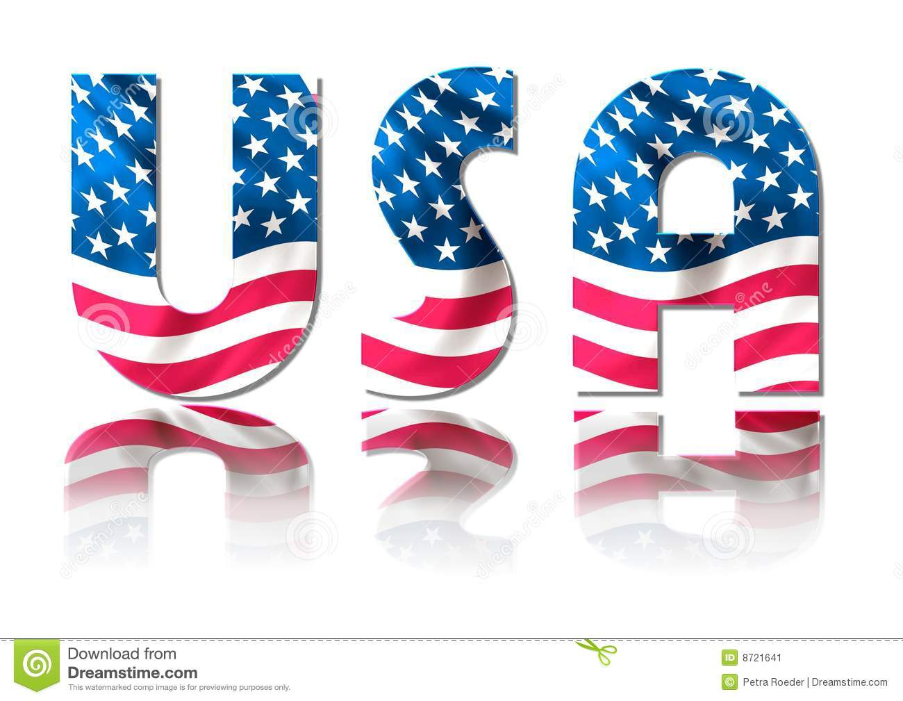 Usa Sign Stock Image - Image: 8721641