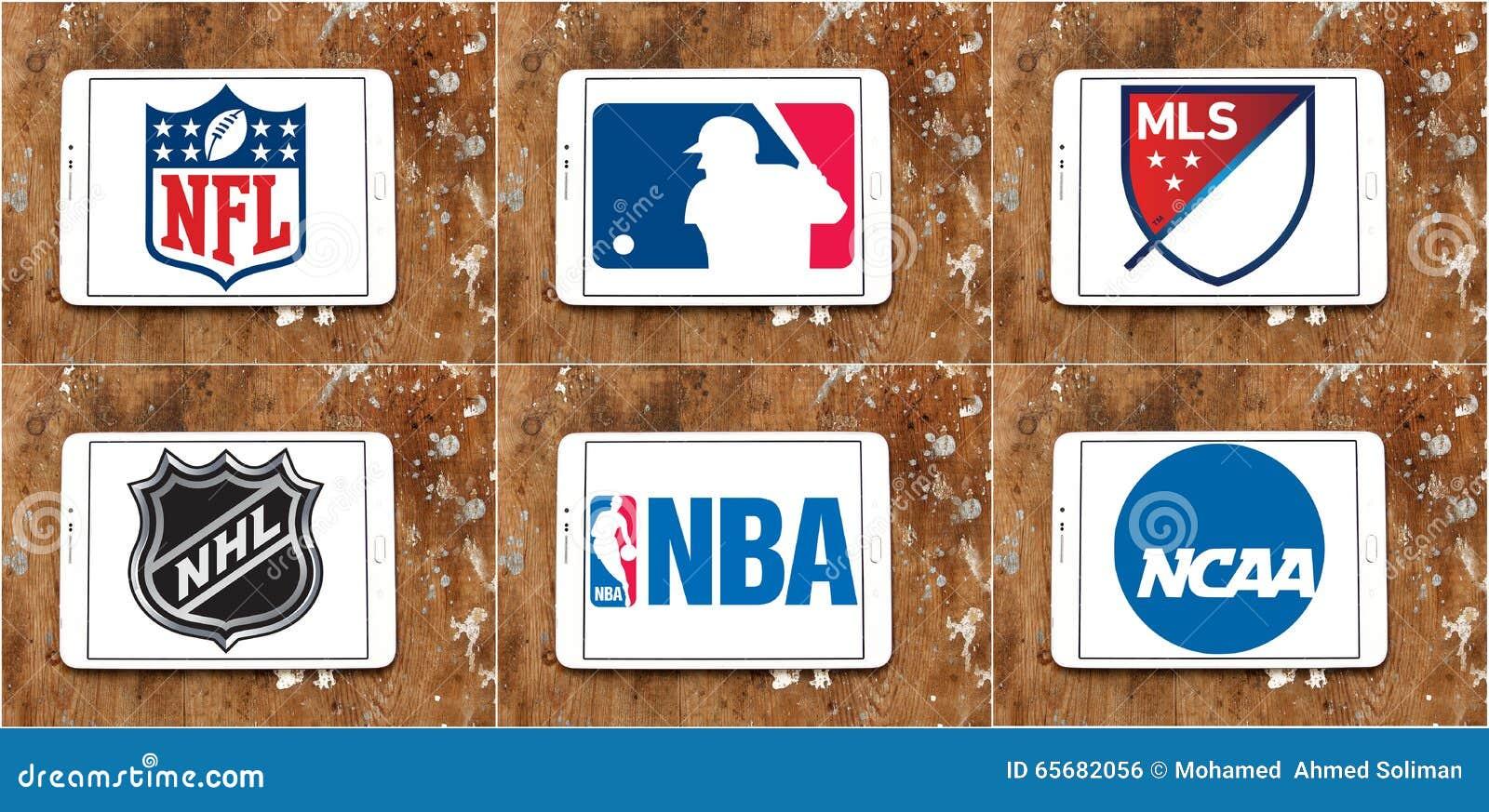 USA Sports Logos Vector Illustration | CartoonDealer.com ...