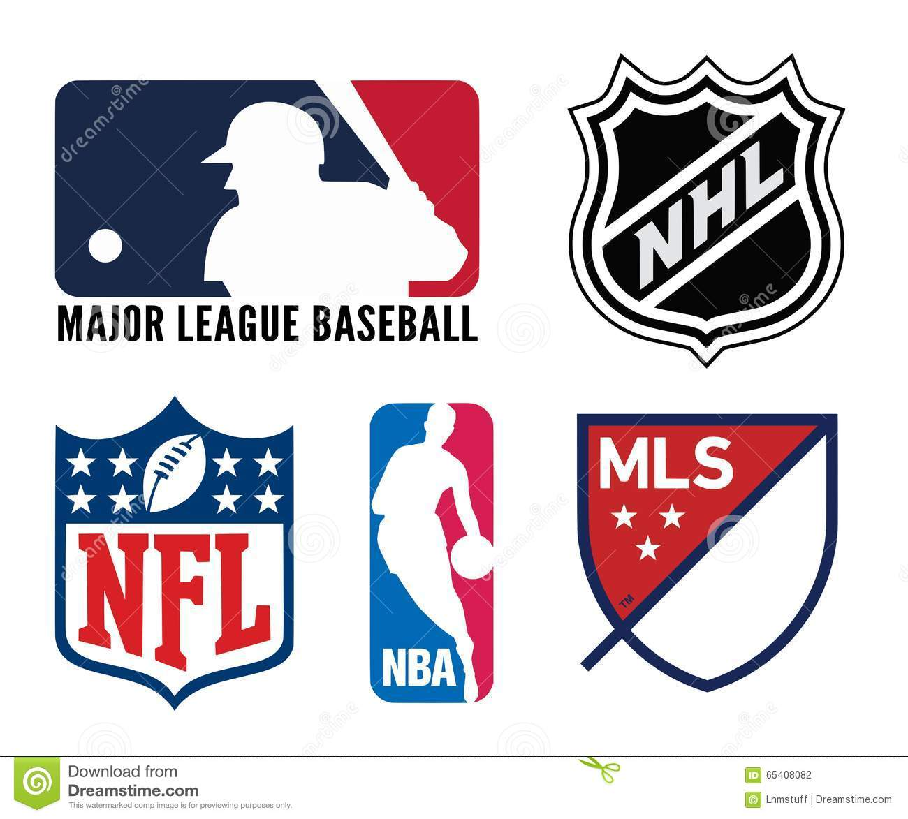 USA sports logos editorial photography  Illustration of