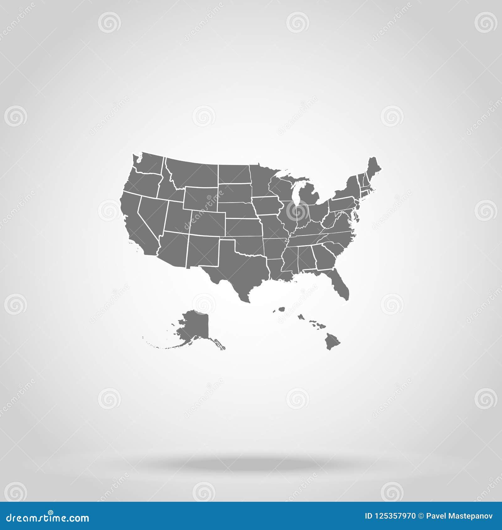 USA-stater av Amerika