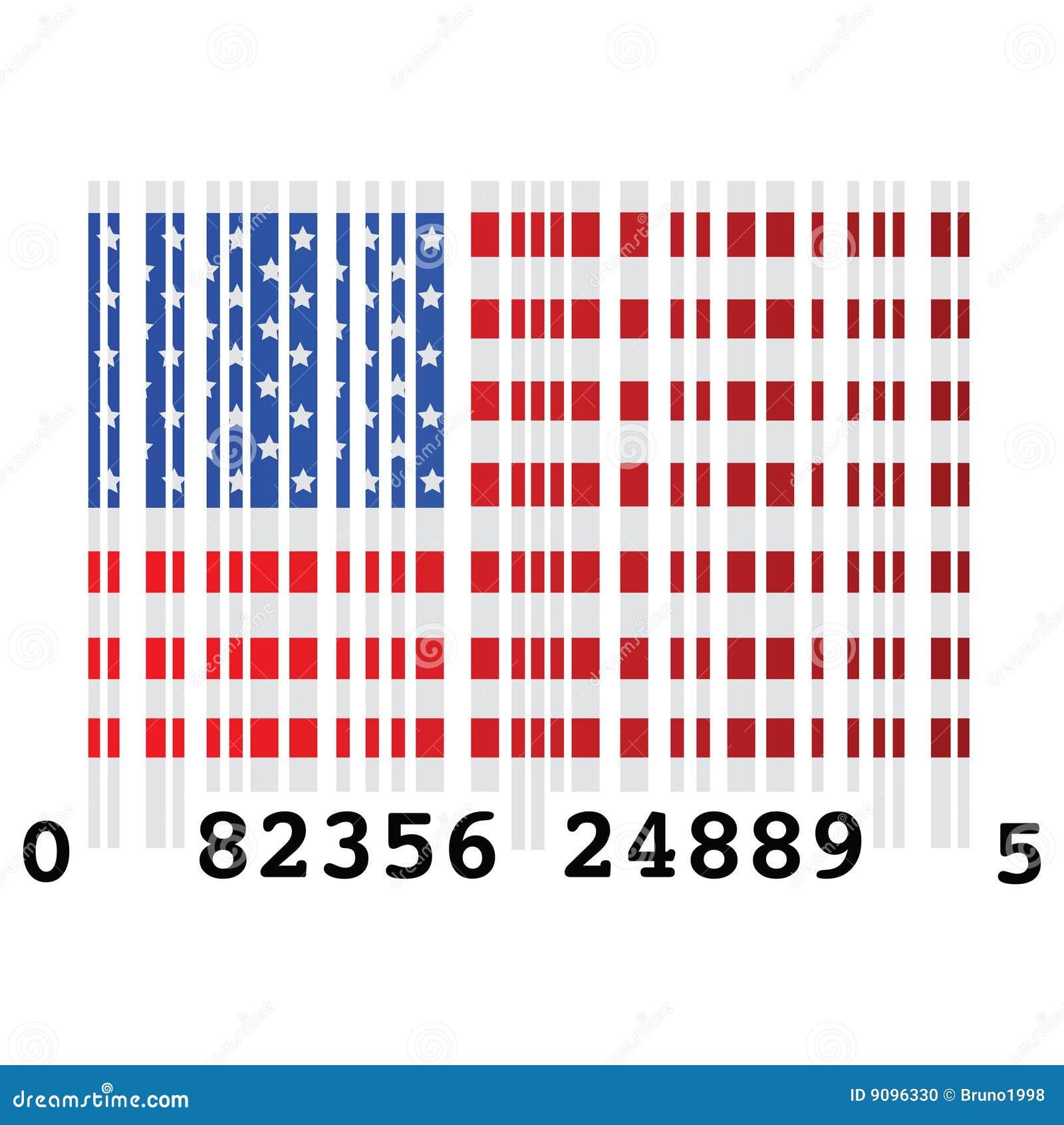 USA-Strichkode