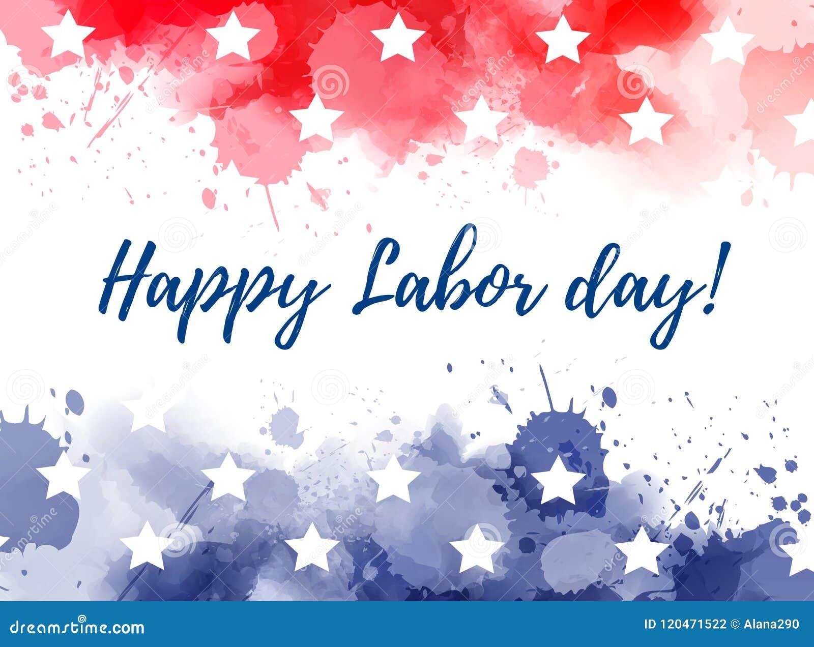 USA Szczęśliwy święto pracy