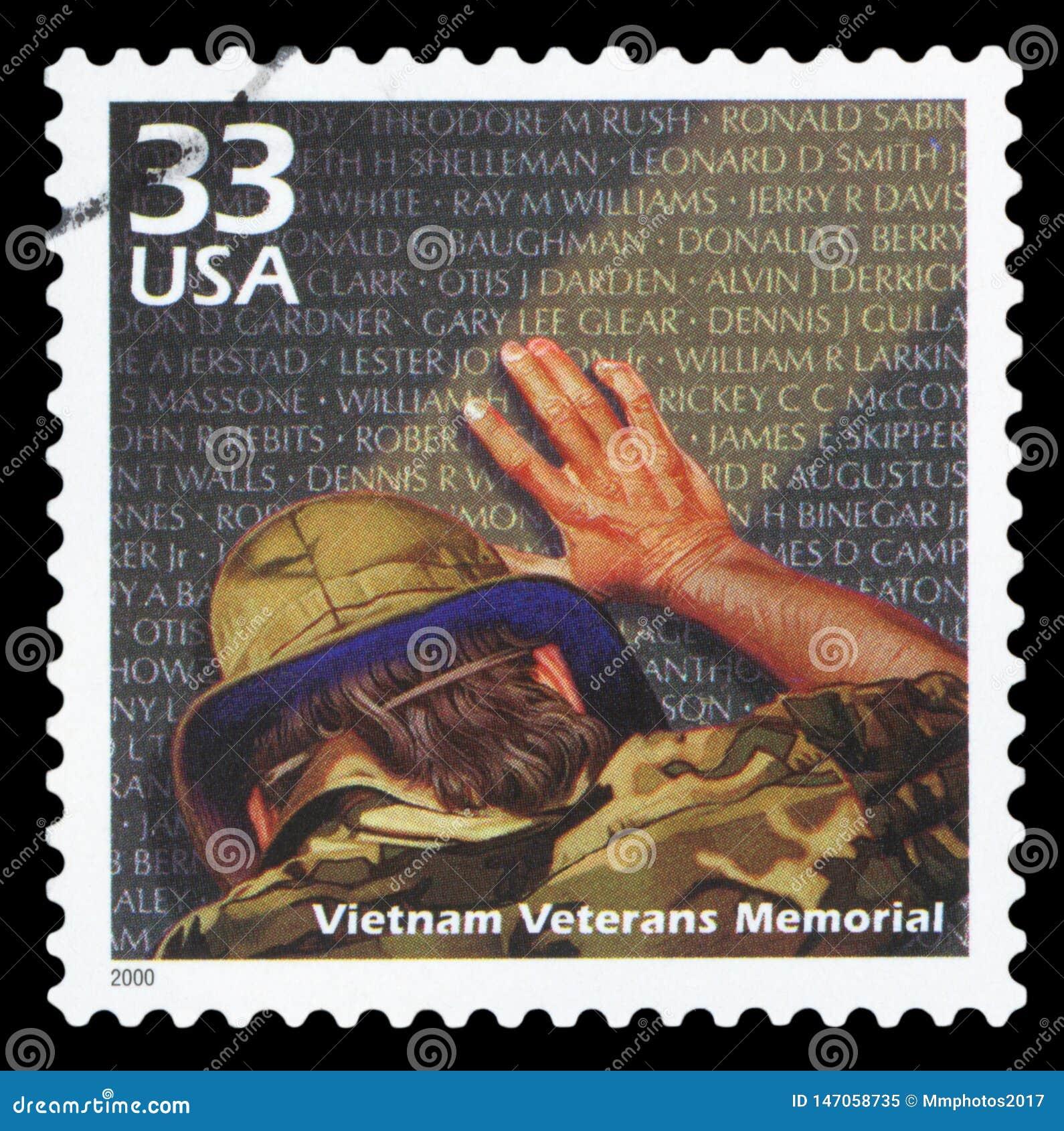 USA znaczek pocztowy