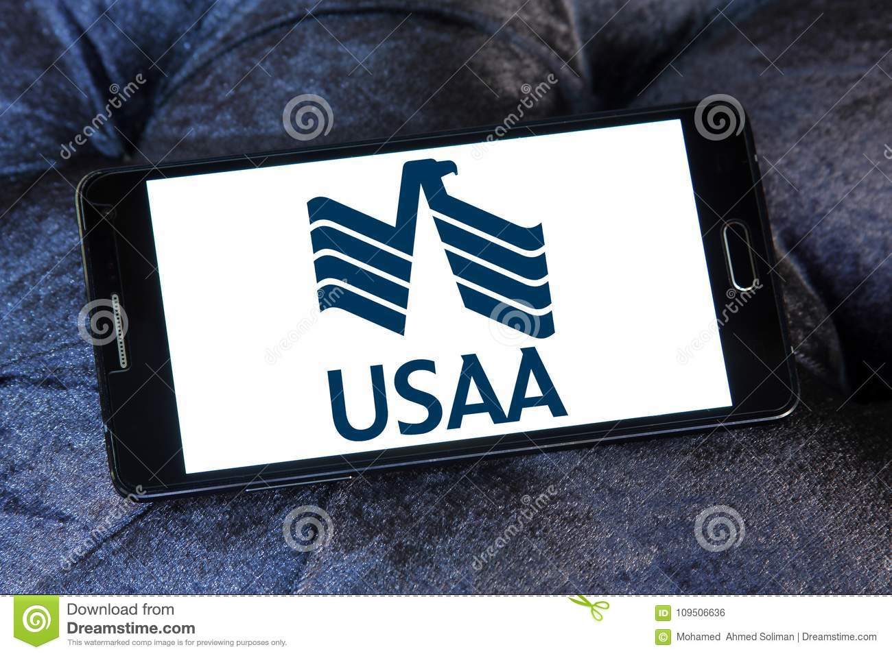Usaa Company Logo Editorial Photo Illustration Of Global 109506636