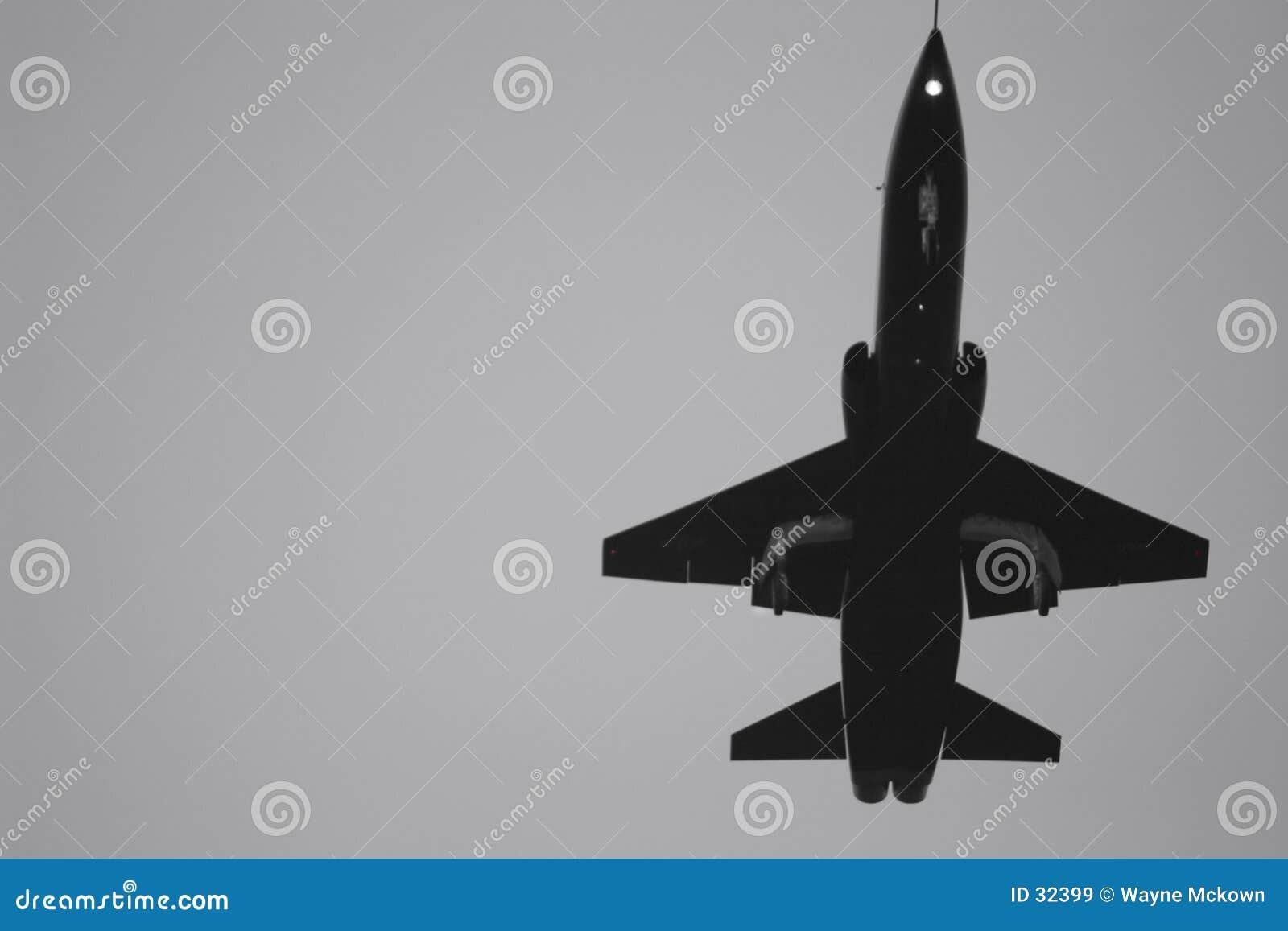 USAF самолет-истребителя