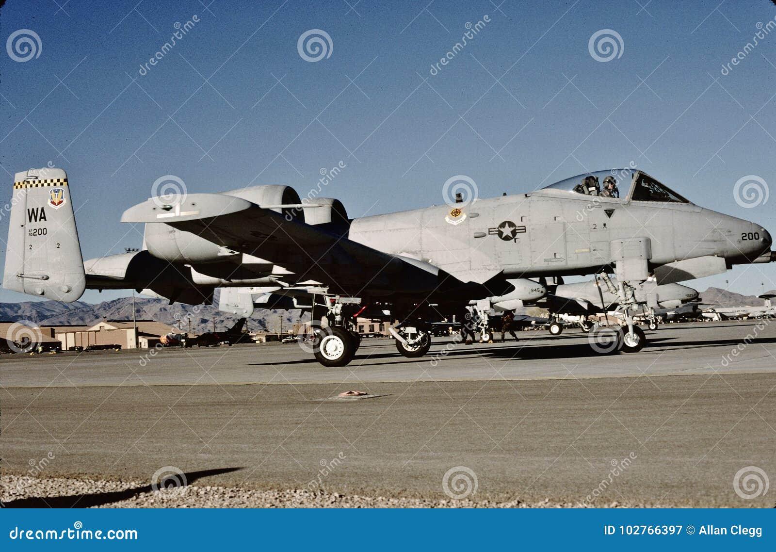 USAF Republic Fairchild A-10A 80-200 at Nellis AFB