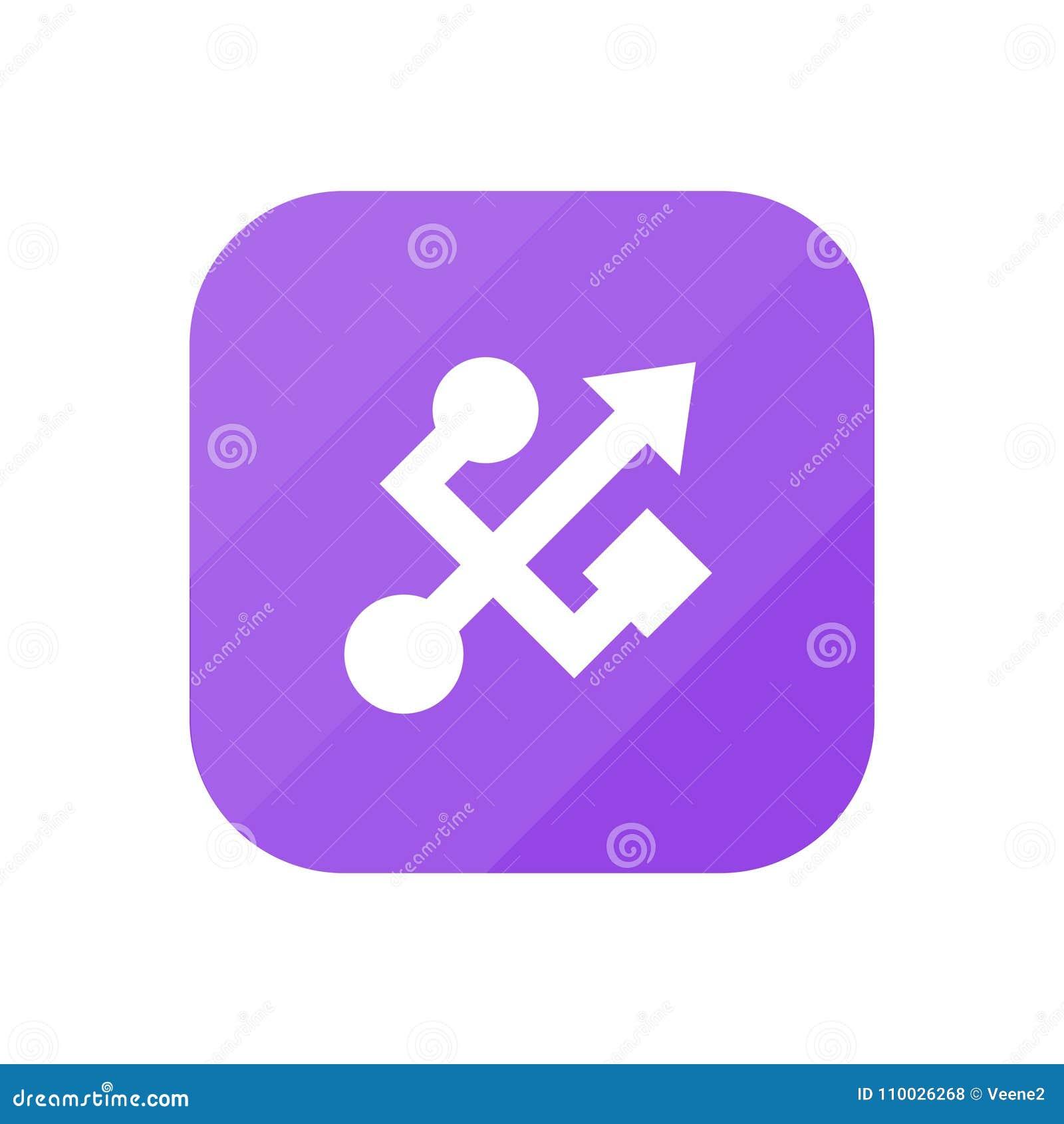 USB - App Pictogram