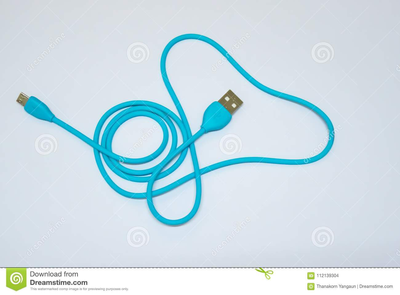 54b84b19d1fb USB Cable Used To Transfer Data From The Other Device To Computer Or ...