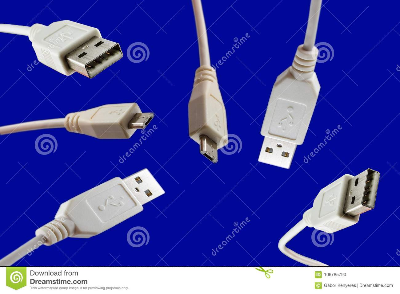 Usb Cables Cord Wire Data Cable Stock Photo Image Of Wiring A Plug Download Equipment