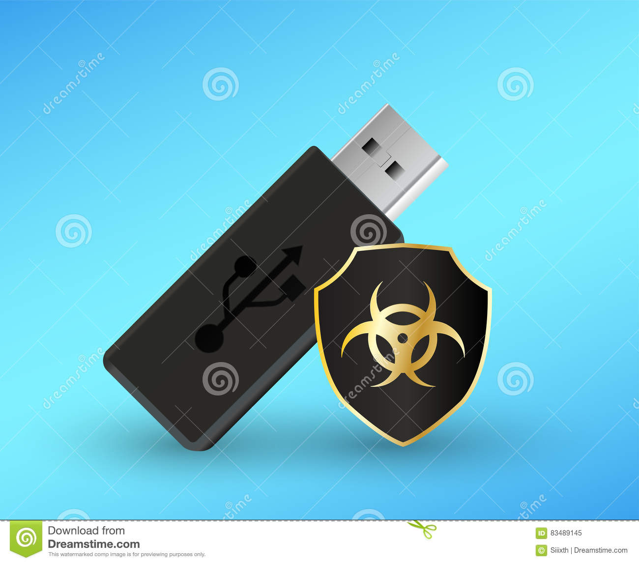 How to scan usb flash drive (stick) with avast antivirus.