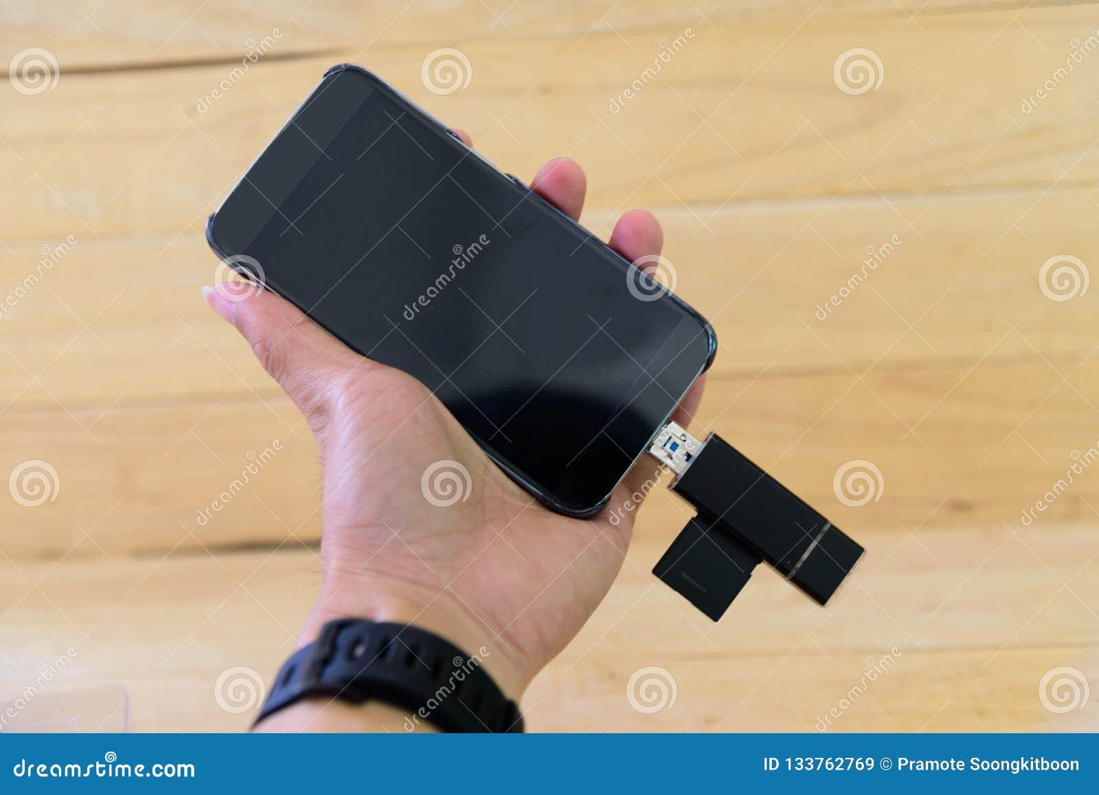 USB-kaartlezer voor mobiel