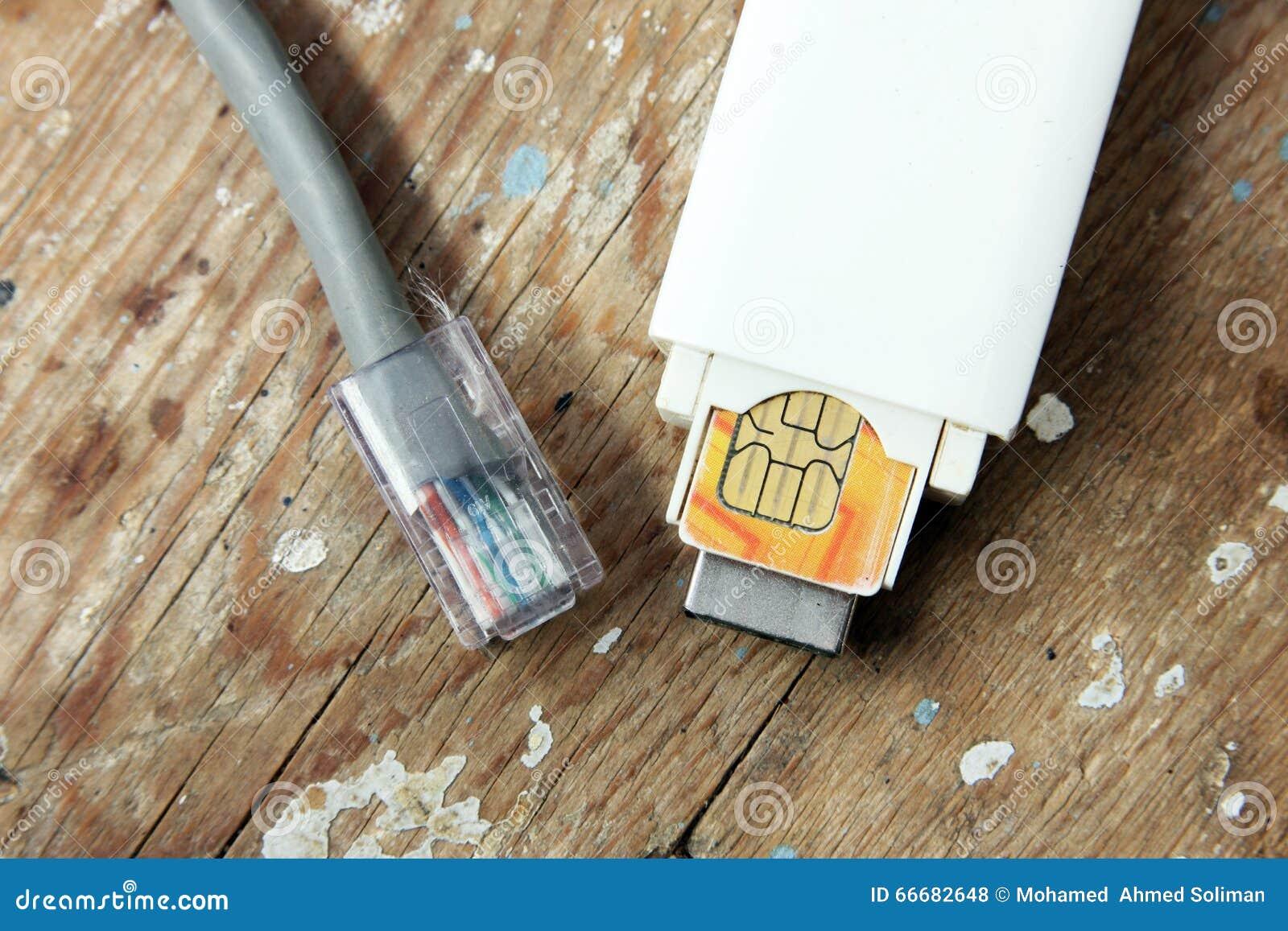 Usb modem i interneta kabel