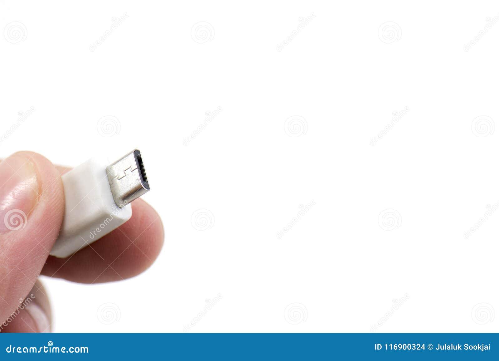 USB port na ręce